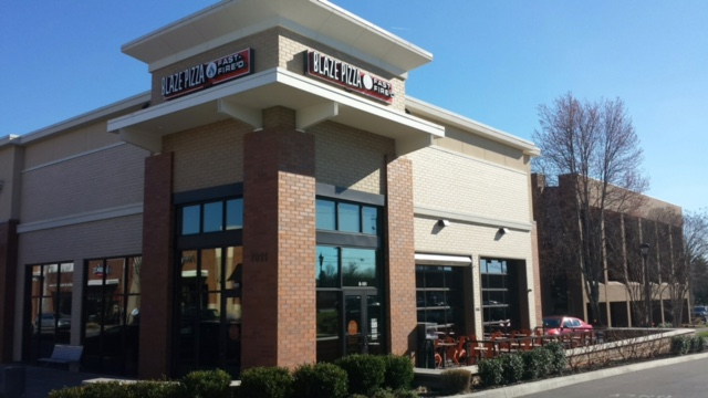 Blaze Pizza Brentwood TN Building